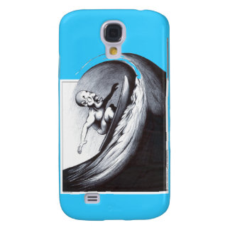 Surfer Galaxy S4 Cases