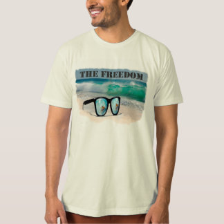 Surfer gifts Freedom T-shirt