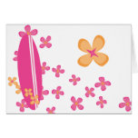Surfer Girl 2 Stationery Note Card
