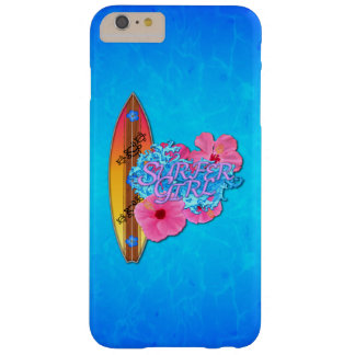 Surfer Girl Barely There iPhone 6 Plus Case
