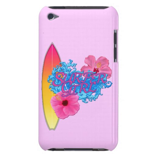 Surfer Girl Barely There iPod Case