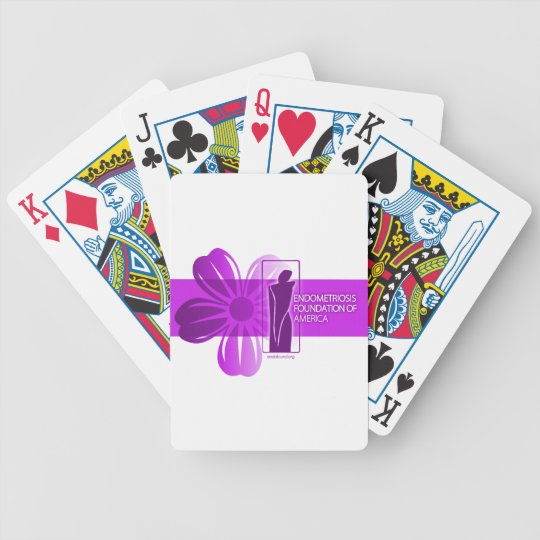 Surfer Girl Bicycle Playing Cards