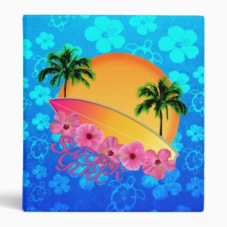 Surfer Girl Vinyl Binder