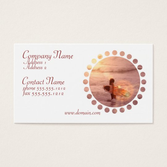 Surfer Girl Business Card
