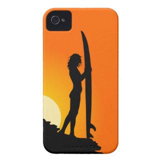 SURFER GIRL CASE BLACKBERRY CASES
