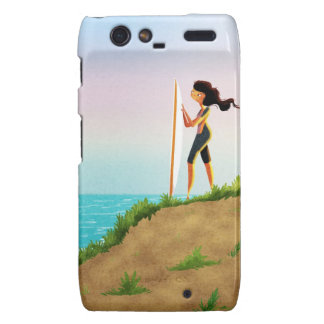 Surfer Girl Droid RAZR Covers