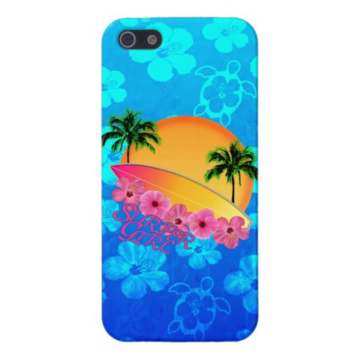 Surfer Girl Cases For iPhone 5