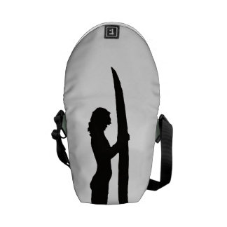Surfer Girl Courier Bag
