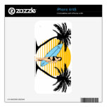 Surfer Girl Decal For The iPhone 4S