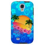 Surfer Girl Galaxy S4 Case