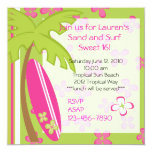 Surfer Girl Invitation