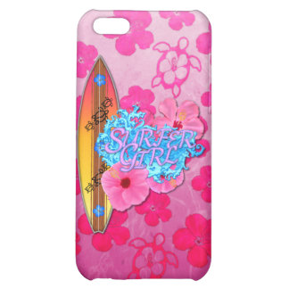 Surfer Girl iPhone 5C Case