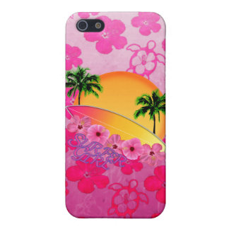 Surfer Girl iPhone 5 Cases
