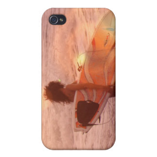 Surfer Girl iPhone Case iPhone 4 Cases