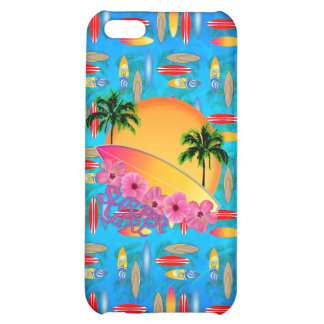 Surfer Girl iPhone 5C Cases