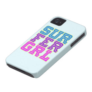 Surfer Girl iphone cover iPhone 4 Case