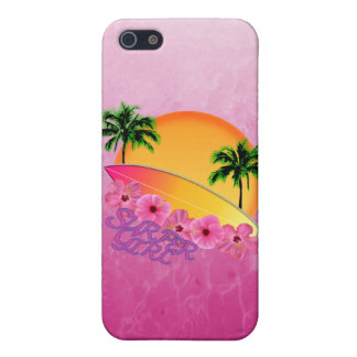 Surfer Girl iPhone SE/5/5s Cover