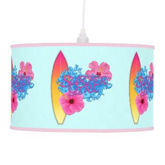 Surfer Girl Ceiling Lamp