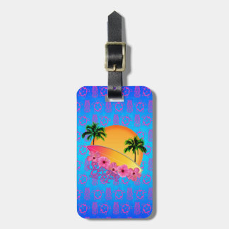 Surfer Girl Tags For Bags