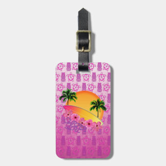 Surfer Girl Luggage Tags