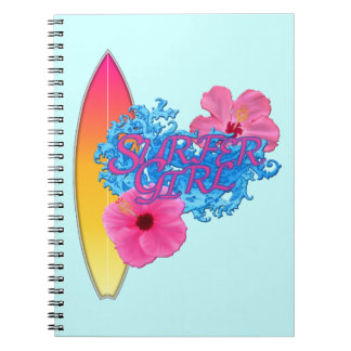 Surfer Girl Notebook