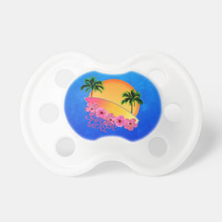Surfer Girl Pacifiers
