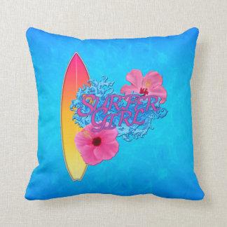 Surfer Girl Pillows