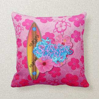Surfer Girl Pillow