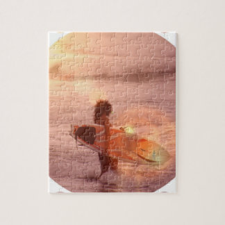 Surfer Girl Puzzle