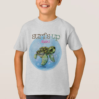 Surfer Girl Seaturtle T-shirt