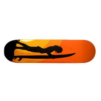 Surfer Girl Skateboard Deck