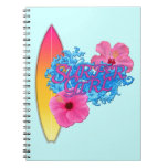 Surfer Girl Spiral Notebooks