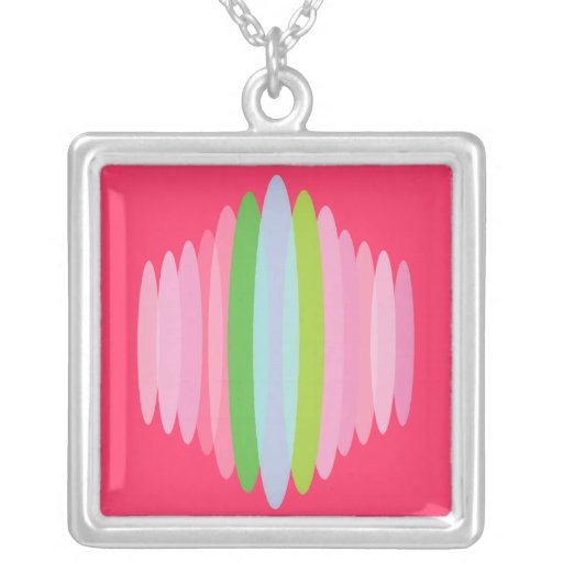 Surfer Girl Sterling Silver Necklace