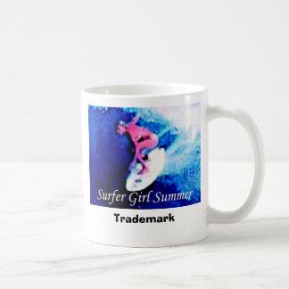 Surfer Girl Summer Trademark Mug