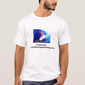 Surfer Girl Summer Trademark T-Shirt