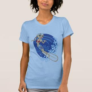 surfer girl tee shirt