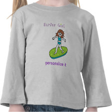 Surfer Girl Tee Shirts
