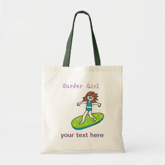 Surfer Girl Tote Bag