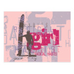 Surfer Girl Tshirts and Gifts Postcard