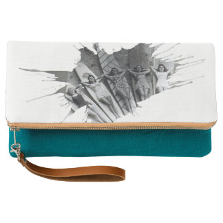Surfer Girls | Fold-over Clutch