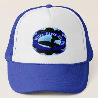 Surfer Girls Get Wet Trucker Hat