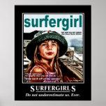 Surfer Girls Print