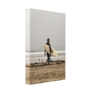 Surfer Guy Wrapped Canvas