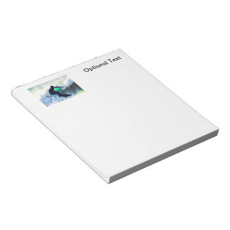 Surfer in a Big Crashing Wave Notepad