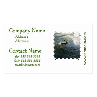Surfer in a Wetsuit Business Cards