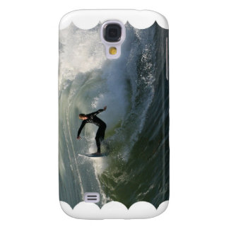 Surfer in a Wetsuit iPhone 3G Case Samsung Galaxy S4 Cases
