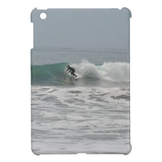 Surfer in Cambria, California Cover For The iPad Mini
