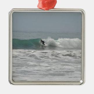 Surfer in Cambria, California Ornament