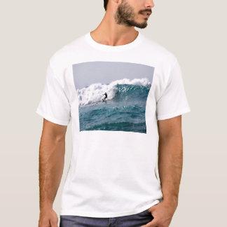 Surfer in Giant Hawaiian Wave T-Shirt