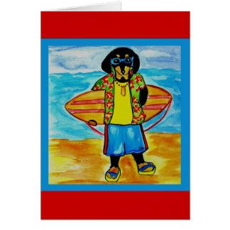 Surfer Joe Card